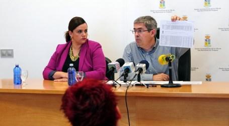 Marco Aurelio Pérez presume de superávit y ayuntamiento saneado