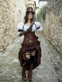 "alt=""steampunk Costume ""Miky"""
