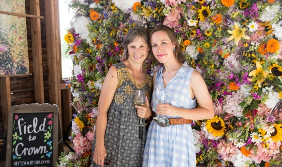 American Grown's Field to Vase Dinners are a great way to show your support of the American flower farmer. Photo credit: Whitney Devin for Field to Vase Dinner Tour.