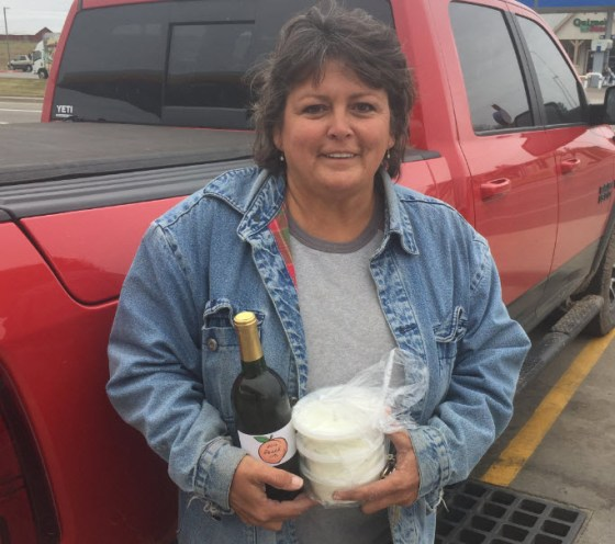 Ginger Braun, owner of Braun Ranch in Gatesville, Texas