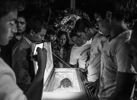 """Grito y muerte"" de Christopher Rogel Blanquet Chávez"