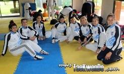 Campamento en Car La Loma, Septiembre 2014, Argentina female Team
