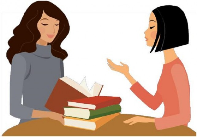 Women with Books-Discussion