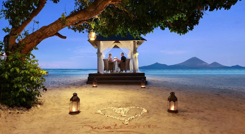 Ombak Sunset飯店-發呆亭浪漫晚餐