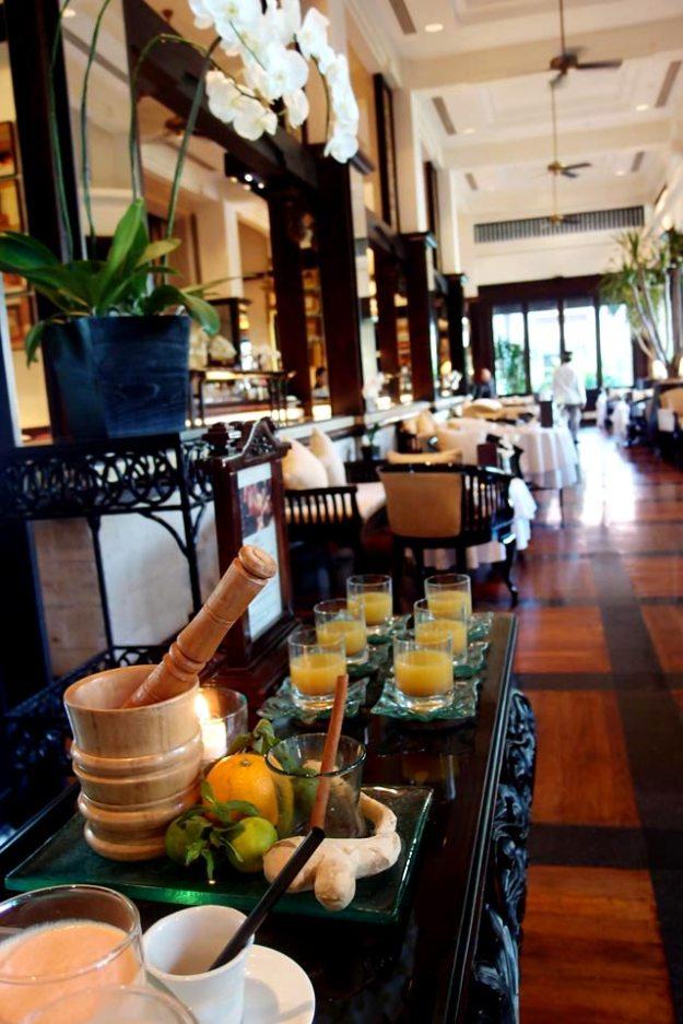 洲際飯店Club Lounge巴里傳統草藥健康飲料Jamu