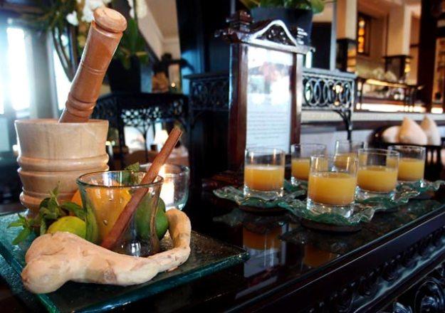 Bali洲際飯店Club Lounge巴里傳統草藥健康飲料Jamu