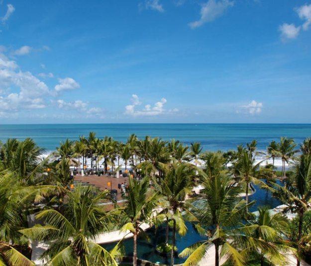 巴里島W Hotel-Ocean Facing Retreat room海景
