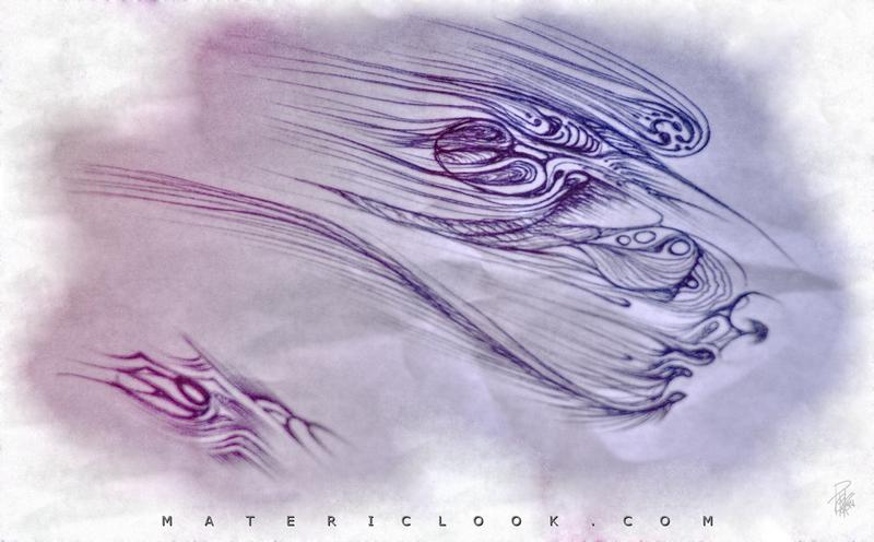 InkFlames00 by Francesco Perratone, MatericLook