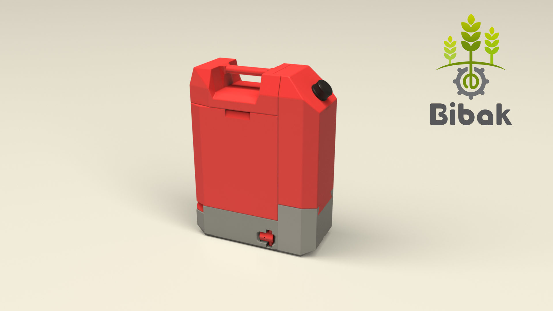 CANNY from Bibak: a jerrycan that contains a mosular pod of sensors for landmines detection