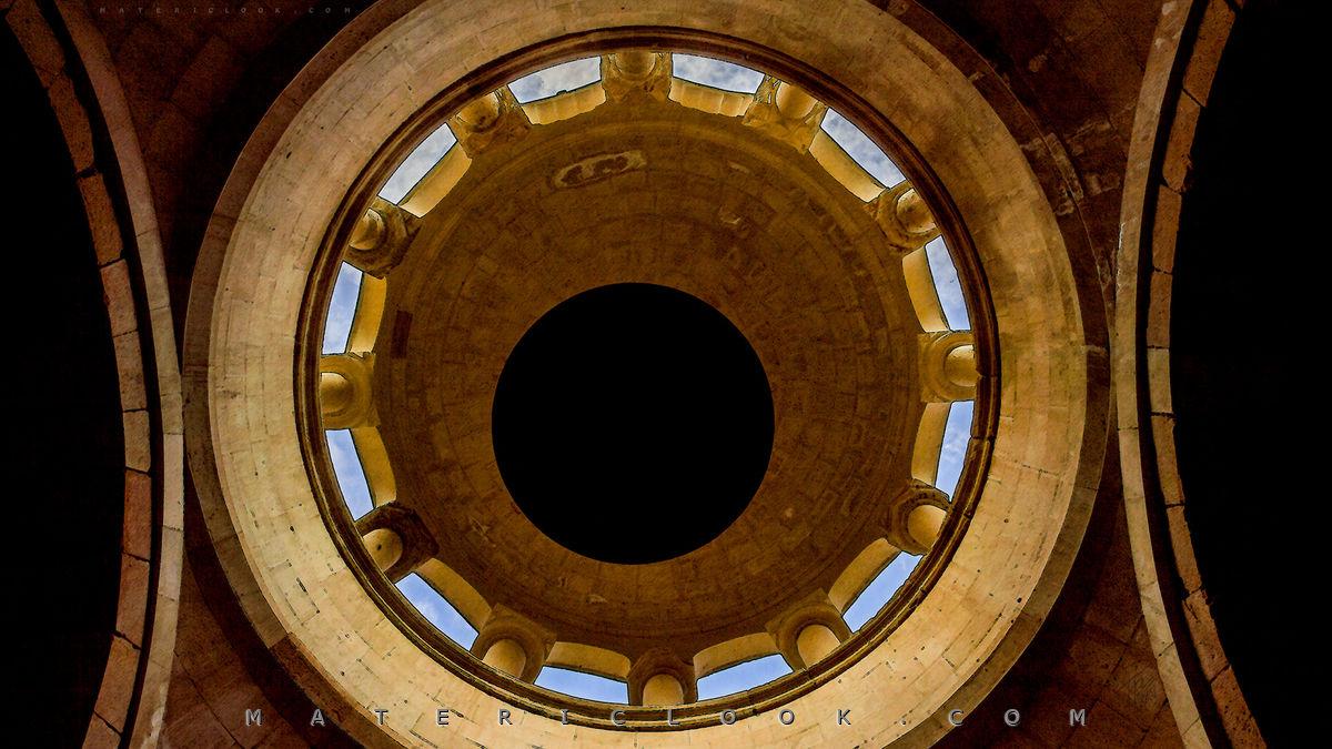 MatericLook: Noravank Cupola 0 Wallpaper by Francesco Perratone, Armenia Photography Urbex and art