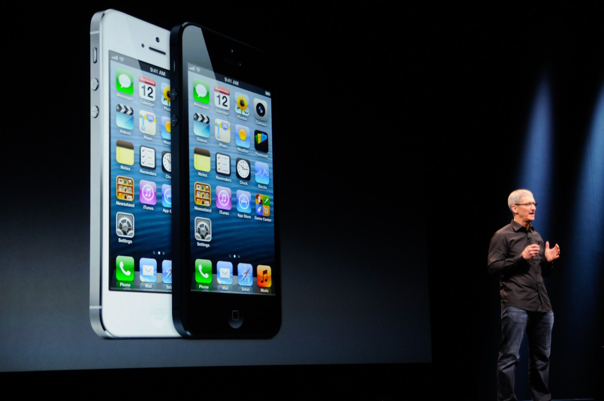 Keynote iPhone 5
