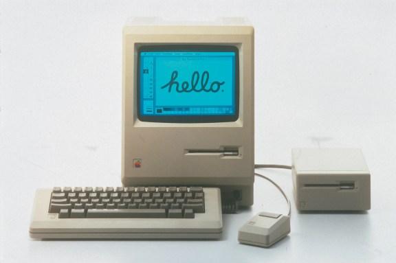 L'objet de cette publicité : Le Macintosh 128k