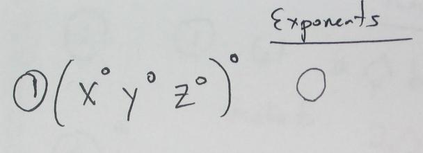 Classic: Zero exponents « Math Mistakes