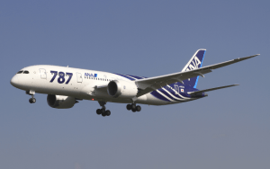 Figure 1: Modern Fuel Efficient 787 Airliner. (Source)