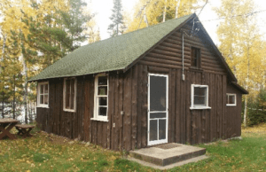 Figure 1: My Current Cabin. It is being torn down next Spring.