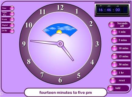 Online Teaching Clock - Coffemix
