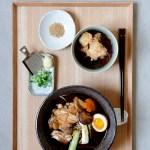 ארוחה יפנית ביפו- מרק סובה ואגדשי טופו