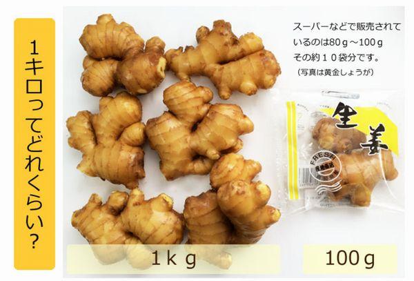 黄金生姜1kg