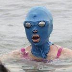 海の妖怪?【フェイスキニ】が中国の海水浴場で目撃されているようです。日本の海は大丈夫?