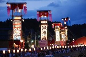 奥能登最大級のキリコ祭り