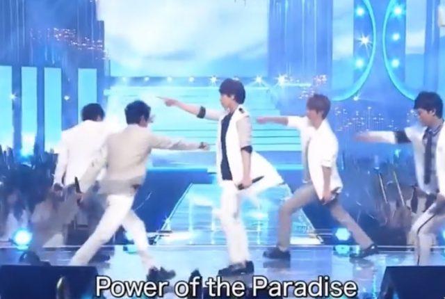 嵐 Power of the Paradise