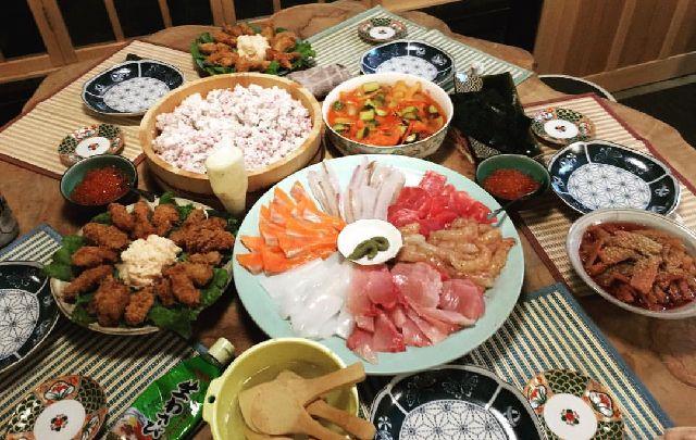 京都徳平庵の豪華な料理