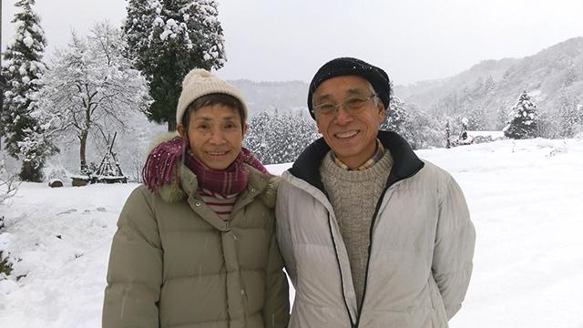 新潟県十日町市の山間で田舎暮らしを楽しむ本間さんご夫妻