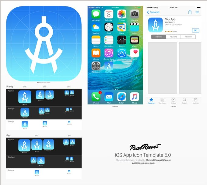 App Icon Template [5.0]