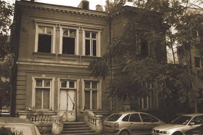 Casa memorială Spiru Haret (strada Gheorghe Manu), astăzi imobil demolat parțial
