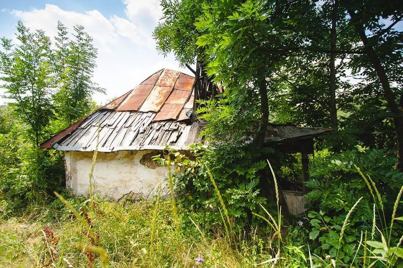 Ruina casei Aneta Anițescu, în 2014