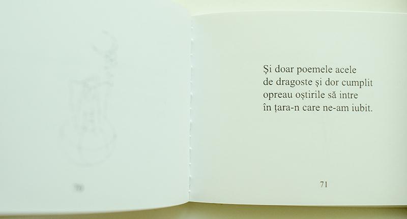 """""""Şi doar poemele acele / de dragoste şi dor cumplit""""... Nicolae Dabija"""