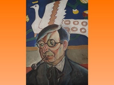Ion Minulescu mare poet simbolist român medaliat cu Legiunea de Onoare slider