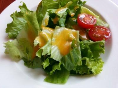 ロイヤルホストのモーニングサラダ