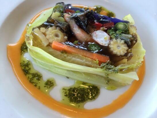 11種野菜と海老の自家製テリーヌ