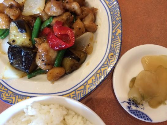 バーミヤンの中華ランチ