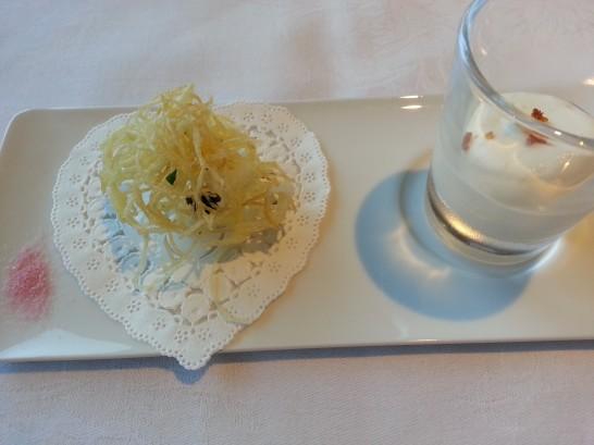 箱根ハイランドホテルのディナー (2)