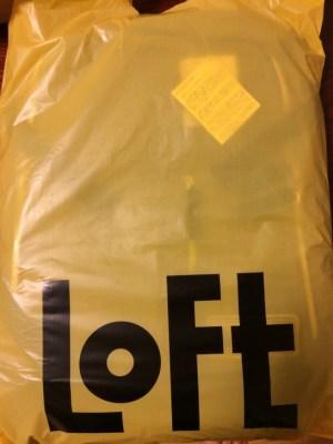 ロフトイエローバザーセールで買った鞄 (2)
