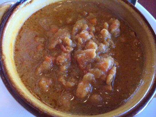ロイヤルホストの十八穀米のキーマカレー (1)