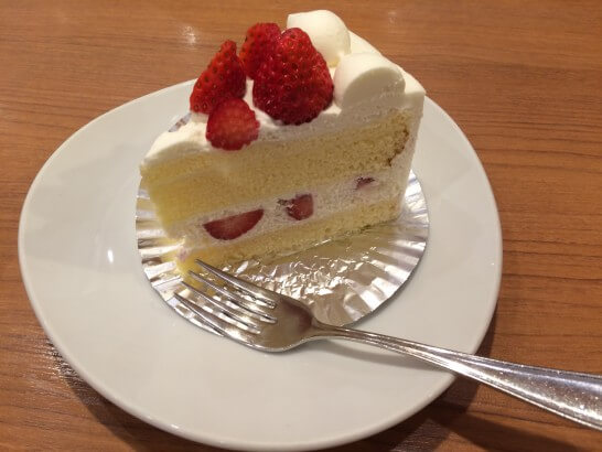 ダッキーダックのショートケーキ