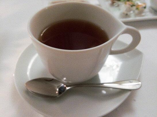 ゴールドダイニングで行ったお店の紅茶