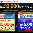 セントラル短資の3万円キャッシュバックキャンペーン(6月末まで)