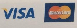 VISAとMasterCardのロゴ