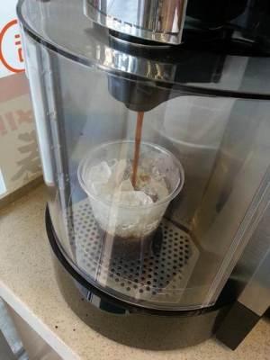 セブンイレブンのコーヒーマシン