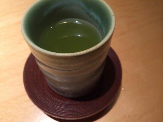 界伊東の夕食のお茶