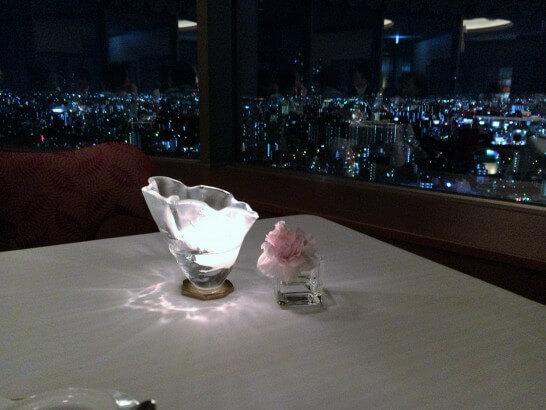 帝国ホテル大阪の高級レストランレ・セゾン