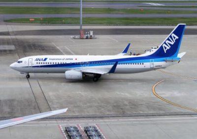 ANAの飛行機(空港)