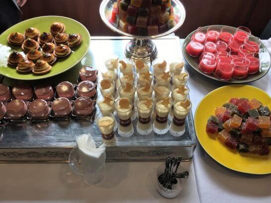 ダイナースクラブ フランス レストランウィーク2016のレセプションのデザート