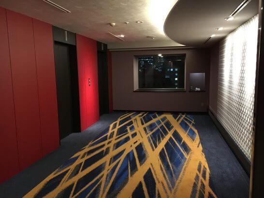ホテルメトロポリタンエドモントのエレベーター