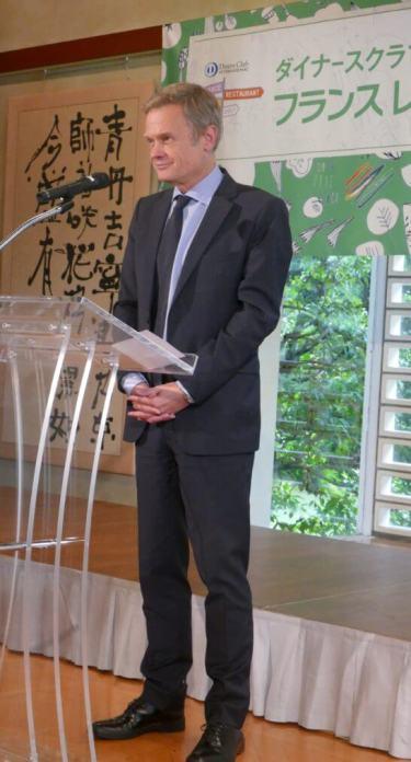 駐日フランス大使 ローラン・ピック氏