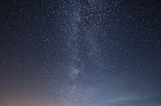海外リゾートの星空